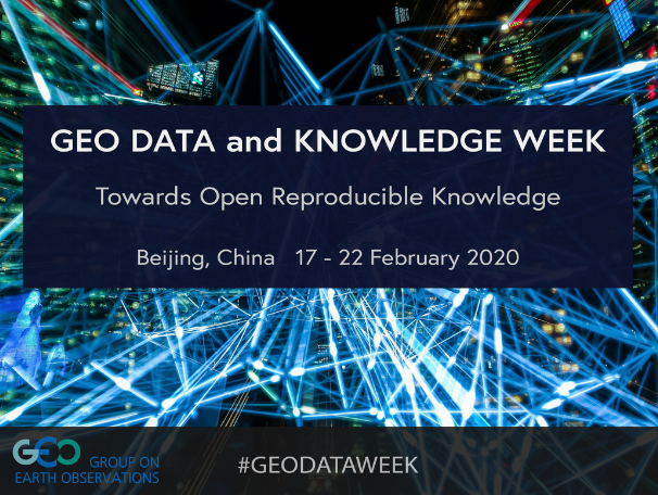 GEO Data and Knowledge Week 2020
